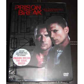 Prison Break La Serie Completa En Dvd