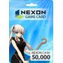 Nexon Game Card - Tarjeta Prepaga - 50,000 Nexon Cash Eu