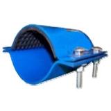 Faja Para Tubería 1.1/2 Plgds. Azul Tipo Galápago