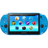 Ps Vita Azul Original Wifi Pantalla Tactil Camara Ar Cards