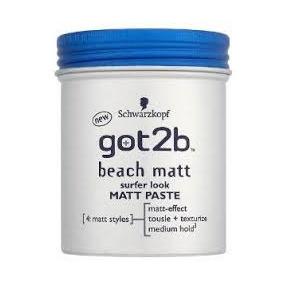 Got2b Beach Matt Paste Surfer Look 100ml - Schwarzkopf