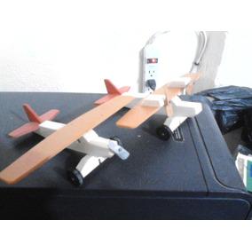 Aviones, Camiones, Juguetes De Madera, Mdf, Cajas, Portaretr
