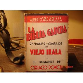 La Biblia Gaucha - Alberto Vacarezza -1936 - Primera Edicion