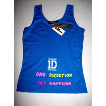 Camisa One Direction Talla M Juvenil Artistas Online
