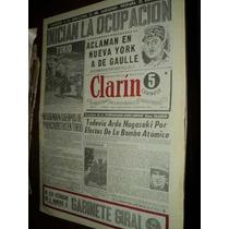 Diario Clarin Numero 1....martes 28 De Agosto De.1945