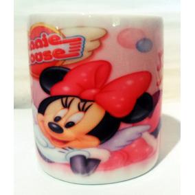 Cofre De Porcelana Minnie Mouse Com Fundo Removível