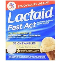 Lactaid Fast Act Chewable Fast Act - 32 Comp