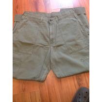 Pantalón Polo Ralph Lauren Usado Talla 33x34 Color Kaki
