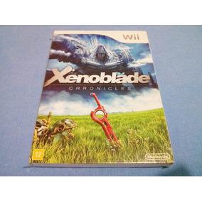Xenoblade Chronicles Wii - Americano - Com Luva - Perfeito