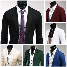Basic Blazer Moda Japonesa Saco Slim Fit Envio Gratis 1 Dia