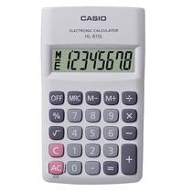 Calculadora De Bolsillo Blanco, 8 Dígitos Hl-815l-we