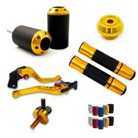 Slider + Kit Completo - Xj6 Hornet Z800 Z750 Frete Grátis