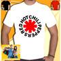 Camiseta Redhot Chili Peppers Rhcp Camisa Banda Rock In Roll