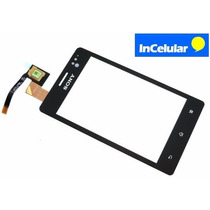Touch Screen Cristal Sony Xperia Go St27 St27a Con Pegamento