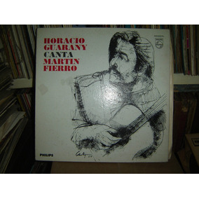 Horacio Guarany Canta Martin Fierro Folklore Lp Vinilo