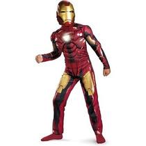 Botarga Traje Disfraz Tamaño Niño Iron Man