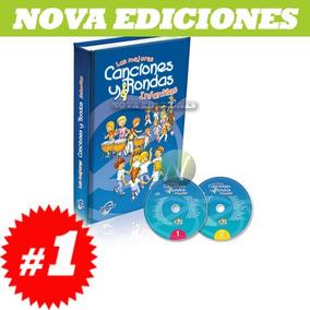 Las Mejores Canciones Y Rondas Infantiles 1 Vol + 2cd
