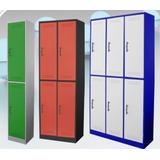 Locker De 6 Compartimentos 2 Cuerpos