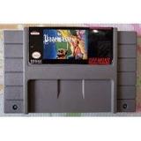Fita,cartucho The Pagemaster Original P/ Super Nintendo