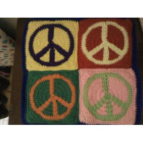 Funda De Almohadon Tejida A Crochet