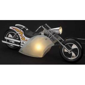 Lampara Decorativa Forma De Moto