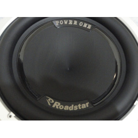 Subwoofer 12pol Roadstar Rs-1210pw1 Power One 600rms 4+4ohms