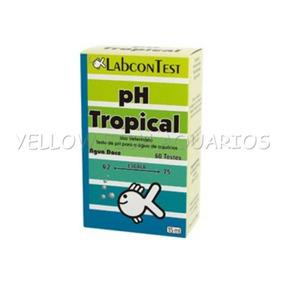 Labcon Teste De Ph Tropical - Agua Doce - 15 Ml - 60 Testes