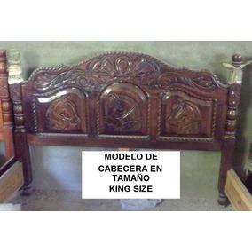 Cabecera de cedro para cama en mercado libre m xico for Cabecera king size precio