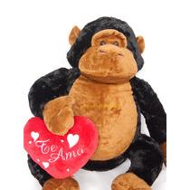 Mono Gorila De Peluche Grande Extrasuave