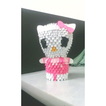 Hello Kitty De Origami En 3d