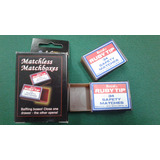 Matchless Matchboxes (magia E/caja Fosforos) Importado Usa