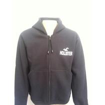 Blusa Moleton Hollister Masculina De Ziper-xg-xg1-xg2-xg3-