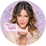 Violetta Papel De Arroz Redondo 20 Cm