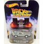 --- Hot Wheels Retro 2016 Time Machine Delorean Back To ---