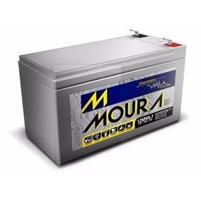 Bateria Caixa Eletronico 7ah 12v Moura Alarme Nobreak 0112