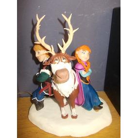 Frozen!!! Elsa Y Anna En Porcelana Fria Para Tu Torta