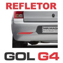 Refletivo Parachoque Gol G4