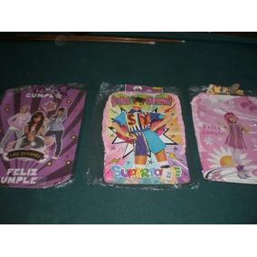 Piñatas De Cumpleaños Son 3 De Diferentes Motivos.