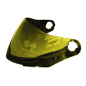 Viseira Colorida Capacete Liberty Four 4 Pro Tork Dourada