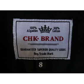 Camisa Usada Cheeky, Talle 8 Varón (quilmes)