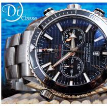 Reloj Omega Seamaster 007 Plata Y Negro