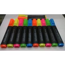 Paquetes Con 12pz De Marcatextos Varios Colores Papeleria