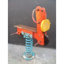 Brinquedo Antigo - Moto De Mola , De Parque De Diversões