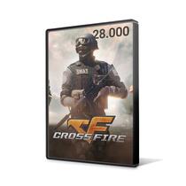 Crossfire Jogo Pc - Cartão De 28.000 Zp Cash - Imediato