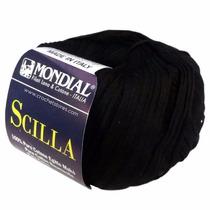 Estambre Mondial Scilla 200 Negro Nuevo