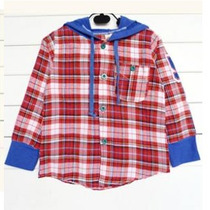 Blusa Camisa Xadrez Infantil Frio Capuz Junina Menino
