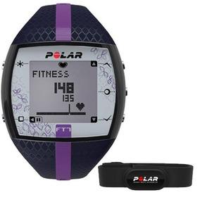Frequencímetro Relógio Monitor Cardíaco Polar Ft7 Azul Lilás