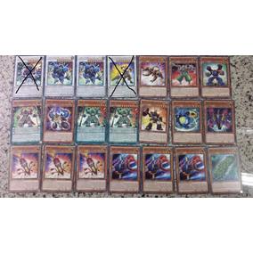 Set Samurai Superpesado. 19 Cartas Yugioh.
