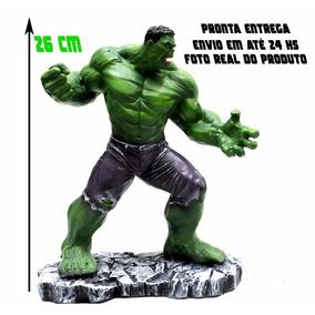 Boneco Hulk - Estátua Em Resina Escala 1/10 - 26 Cm