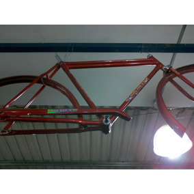 Cuadro De Bicicleta R28 Turismo O Fixed Doble Barra.